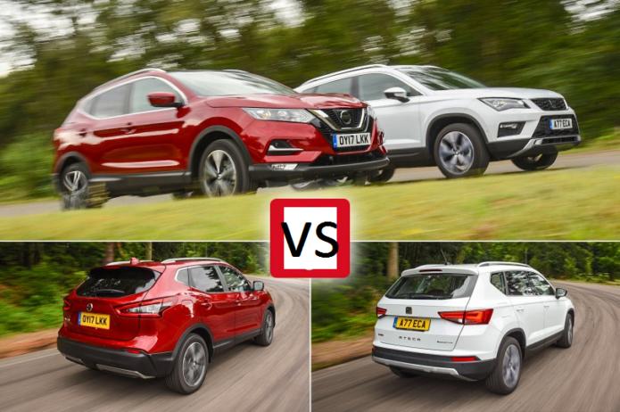 New Nissan Qashqai vs Seat Ateca Comparison