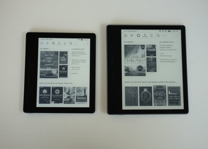 Kindle Oasis 2 vs Oasis: What's new in the 2017 model?