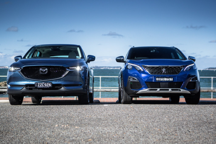 2017 Mazda CX-5 vs Peugeot 3008 comparison