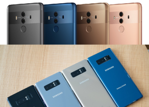 Huawei Mate 10 Pro vs Samsung Galaxy Note8 Specs Comparison