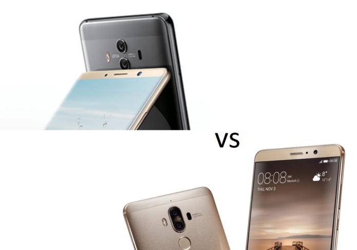 Huawei Mate 10 vs Mate 9 Specs Comparison