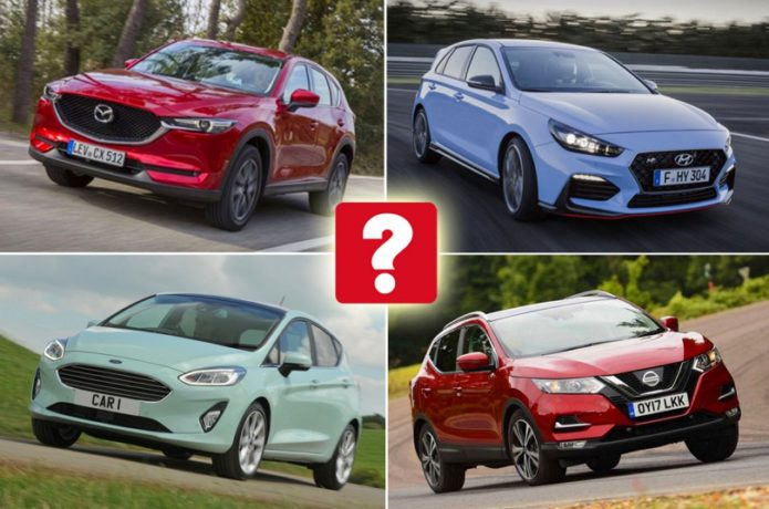 Top 10 most popular car each week reviews