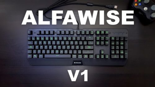 Alfawise V1 Review – RGB mechanical keyboard at $45