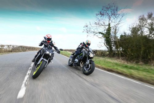 Naked Sports Threeway: Aprilia Shiver 900 Vs. Kawasaki Z900 Vs. Suzuki GSX-S750