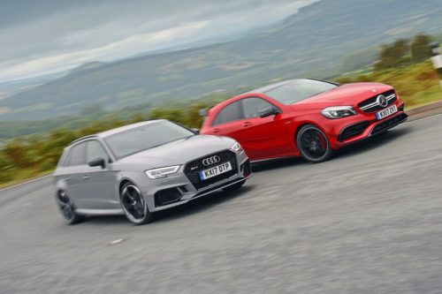 New Audi RS3 Sportback vs Mercedes-AMG A45 Comparison