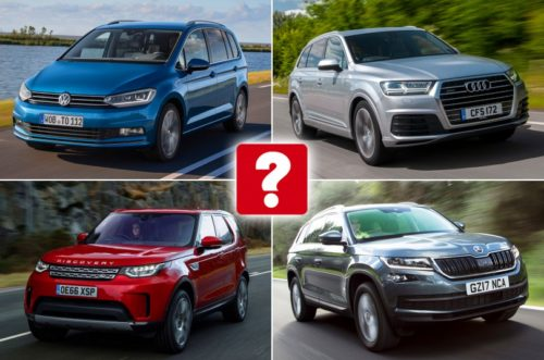2017 Five-star cars with seven seats