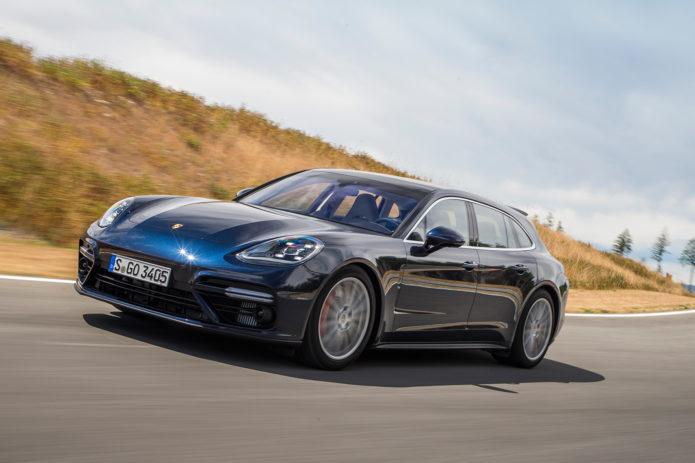 2018-Porsche-Panamera-Sport-Turismo-front-three-quarter-in-motion-02