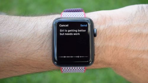 And finally: Apple Watch Series 3 has some Siri issues