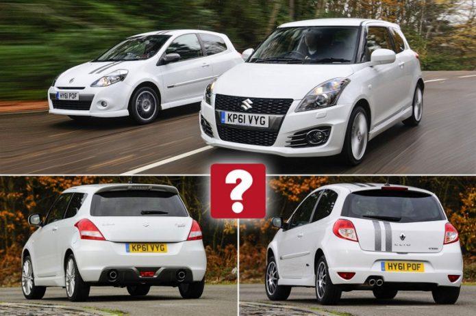 Used Renault Clio Gordini vs Suzuki Swift Sport Comparison