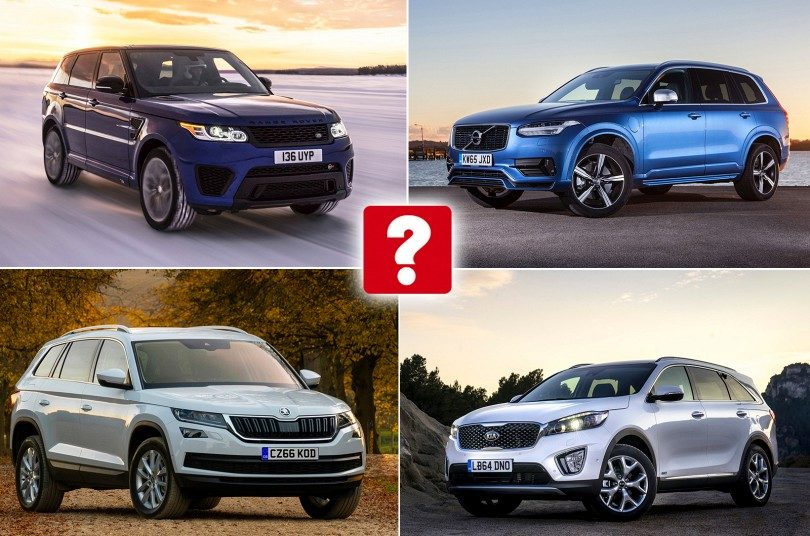Best And Worst 7 Seat Suvs 4x4s 2017