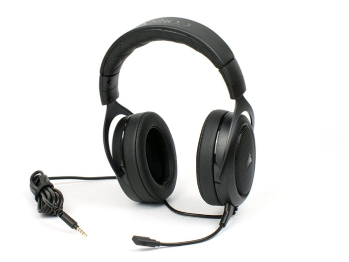 Corsair HS50 Stereo Gaming Headset Review: Just Good Enough