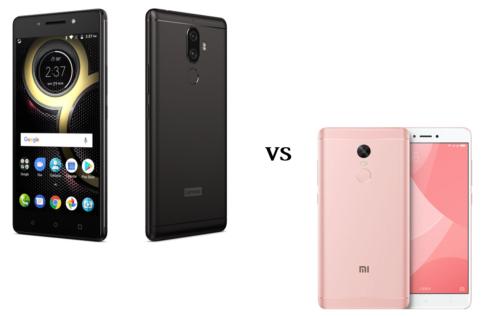Lenovo K8 Note vs Xiaomi Redmi Note 4x (Helio X20) Specs Comparison