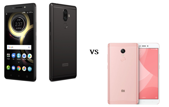 Lenovo K8 Note vs Xiaomi Redmi Note 4x (Helio X20) Specs Comparison