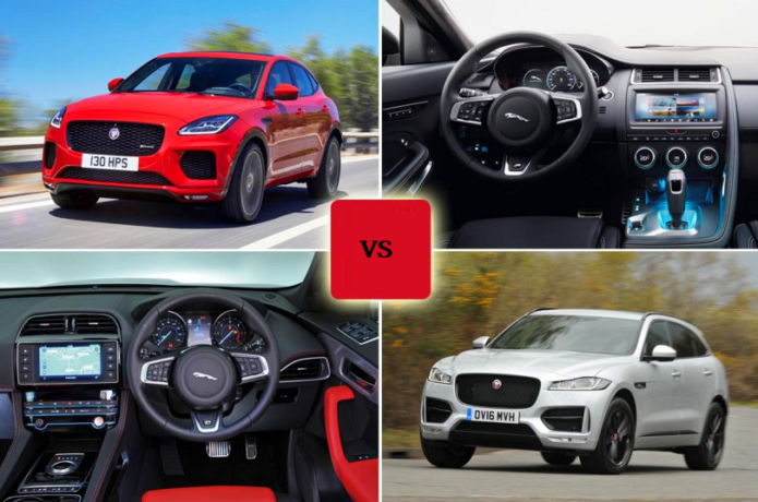 New Jaguar E-Pace vs Jaguar F-Pace Comparison