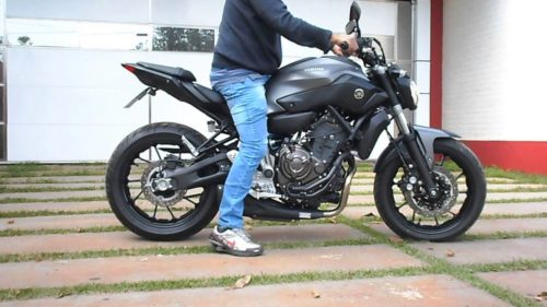 First Look: 2018 Yamaha MT-07