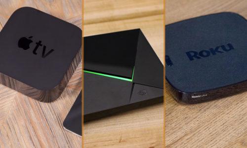 Roku Ultra vs Apple TV 4K vs Nvidia Shield: Face-Off