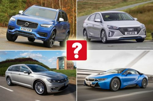 Best hybrid cars in each sector