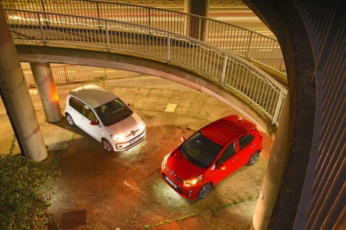 New Kia Picanto vs Volkswagen Up Comparison