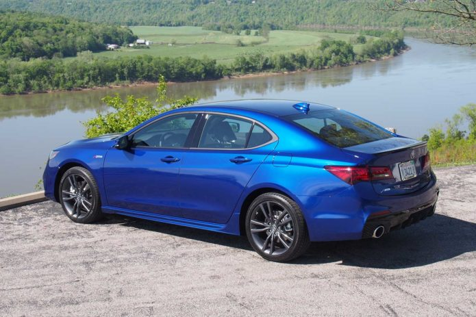 2018 acura tlx a spec first test review actually sort of. Black Bedroom Furniture Sets. Home Design Ideas