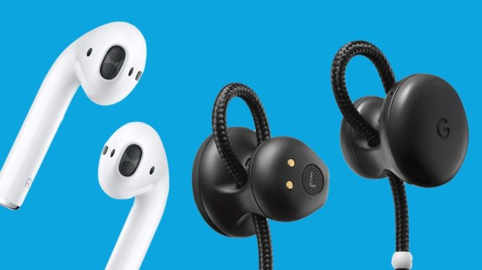 Google Pixel Buds v Apple AirPods: The brawl of the smart earbuds