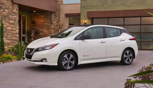 2018 Nissan Leaf: The technology inside