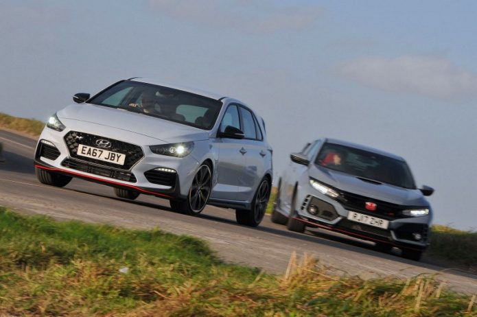 New Hyundai i30N vs Honda Civic Type R Comparison
