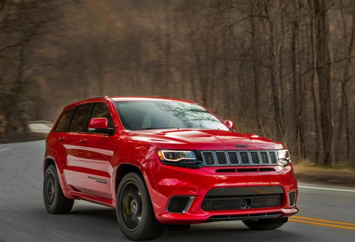 Jeep Grand Cherokee Trackhawk lobs at $135k