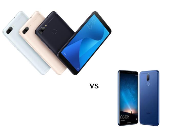 ASUS Zenfone Max Plus M1 vs Huawei Nova 2i : Specs Comparison