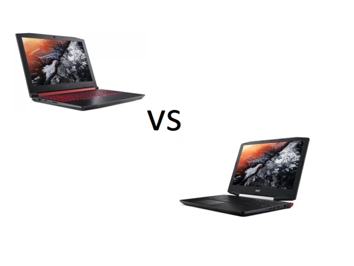 Acer Nitro 5 vs Acer Aspire VX 15 (VX5-591G) – what are the differences?