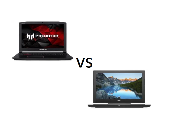 Acer Predator Helios 300 (15″) vs Dell Inspiron 15 7577 – what are the differences?