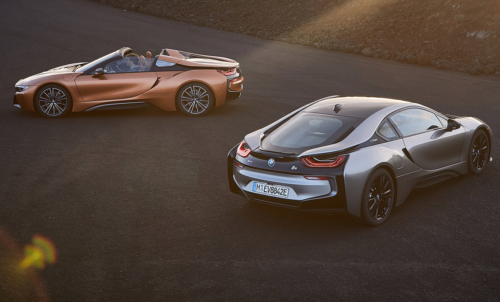 2018 BMW i8 Coupe revealed for Detroit  : i8 Roadster First Edition detailed