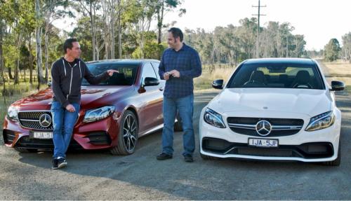 2017 Mercedes-AMG C63 S v Mercedes-AMG E43 comparison