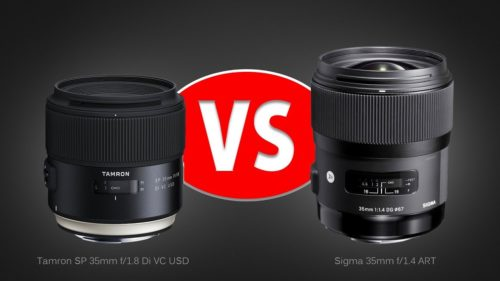 Tamron 35mm F/1.8 VC Vs. Sigma 35mm F/1.4 ART – Lens Comparison