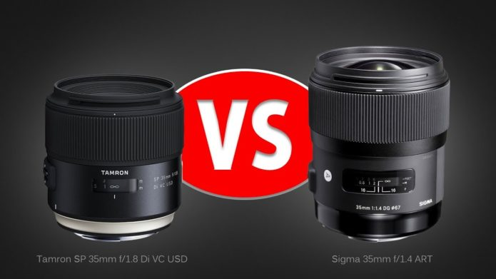 Tamron 35mm F/1.8 VC Vs. Sigma 35mm F/1.4 ART - Lens Comparison