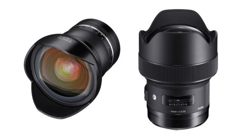 Samyang 14mm F2.4 vs Sigma 14mm F1.8 : Astrophotography lens shootout