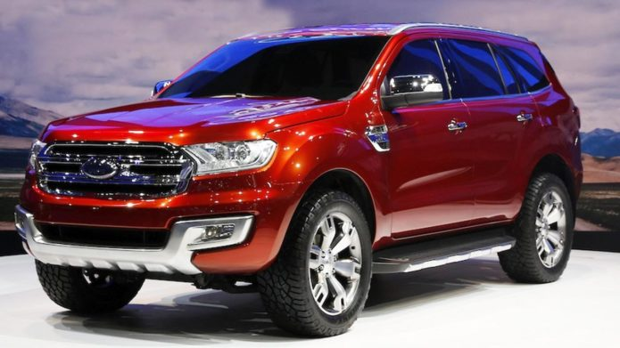 Ford Everest 2018 Review