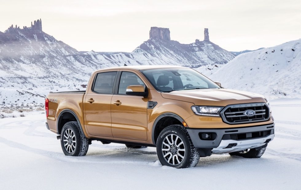2019 ford ranger revealed in detroit with 2 3l ecoboost gearopen. Black Bedroom Furniture Sets. Home Design Ideas