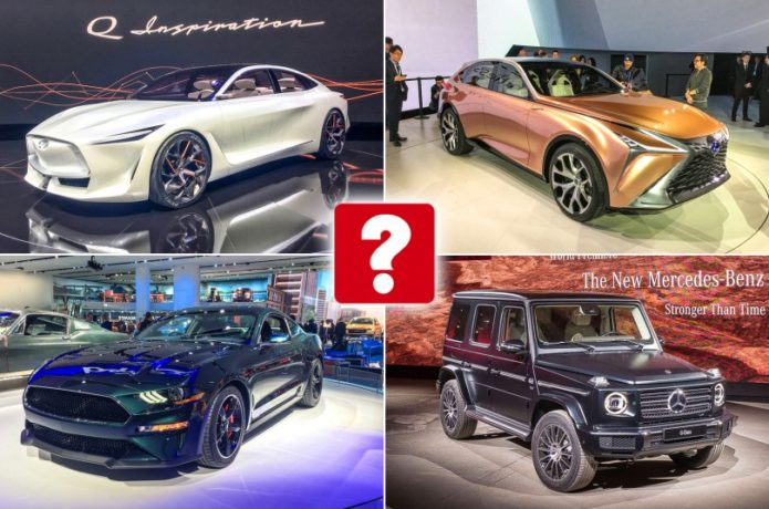 Detroit motor show 2018: our star cars