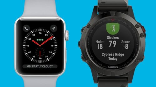 Apple Watch Series 3 v Garmin Fenix 5: Smartwatch royalty goes head to head