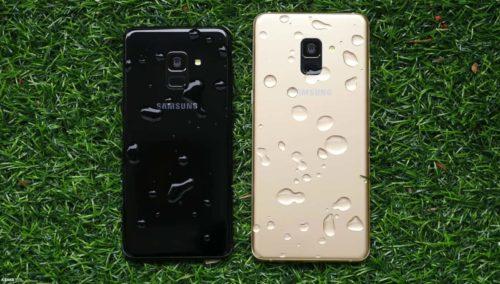 Samsung Galaxy A8 (2018) vs Note FE Specs Comparison