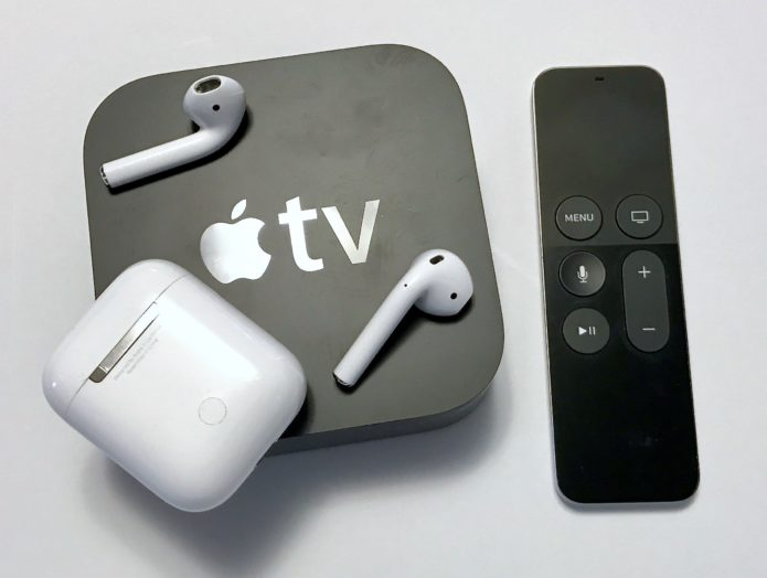 How to use AirPods with Apple TV