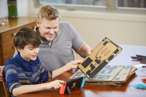 First Look at Nintendo Labo –  Everything we know about the new Switch experience
