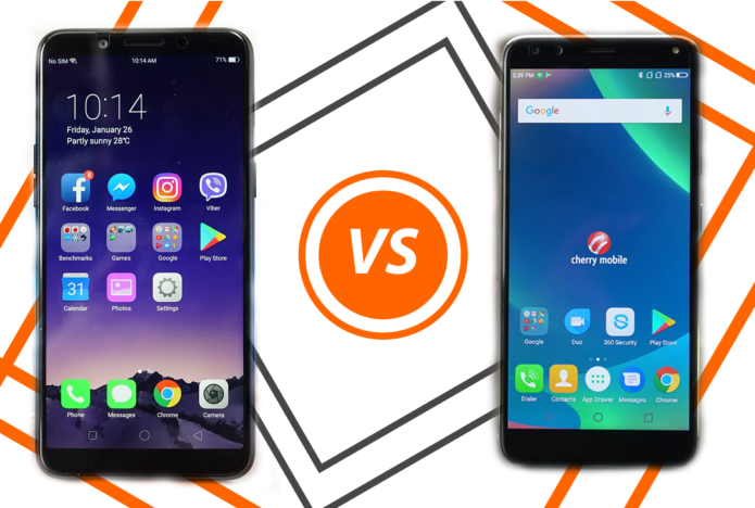 2018Q1 Budget Mid-Range Face-Off: OPPO A83 Vs Cherry Mobile Flare S6 Plus