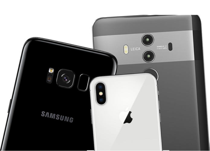 Samsung Galaxy S8 Vs iPhone X Vs Huawei Mate 10 - Camera Comparison