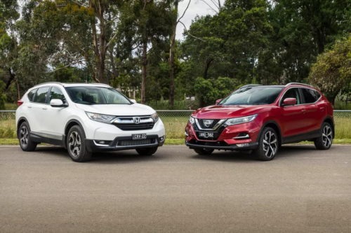 2018 Honda CR-V vs 2018 Nissan QASHQAI Comparison