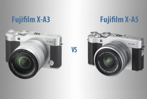 Fujifilm X-A3 vs Fujifilm X-A5 – The 10 Main Differences