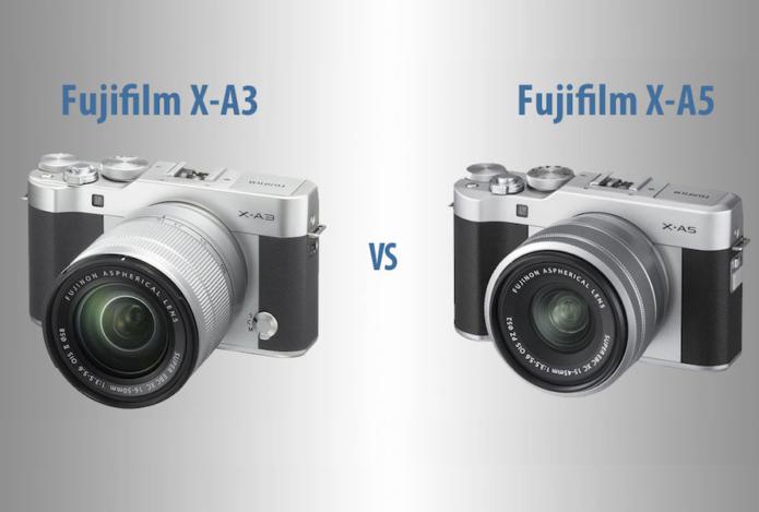 Fujifilm X-A3 vs Fujifilm X-A5 – The 10 Main Differences