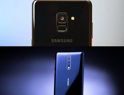 Samsung Galaxy A8 (2018) vs Nokia 8 Specs Comparison