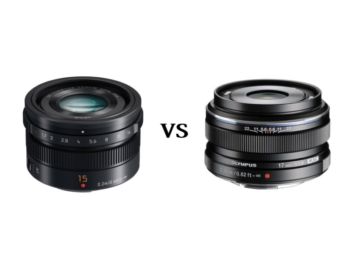 Panasonic Leica 15mm f/1.7 vs Olympus M.Zuiko 17mm f/1.8 – The complete comparison