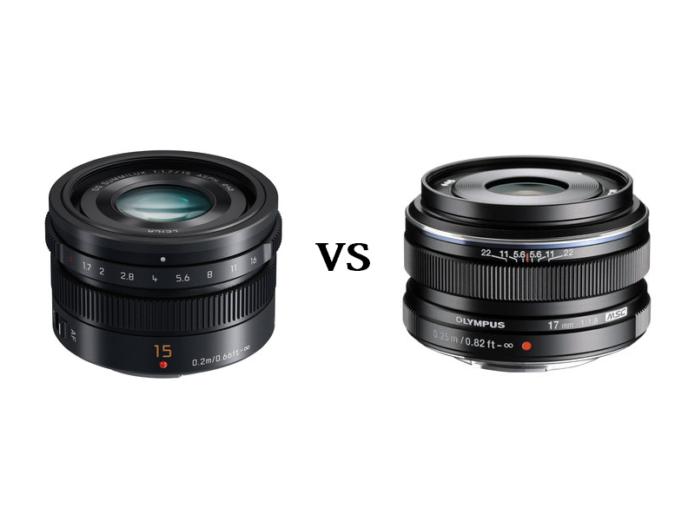 Panasonic Leica 15mm f/1.7 vs Olympus M.Zuiko 17mm f/1.8 – The complete comparison